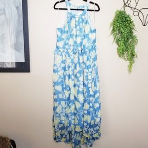Modcloth | Brave New Whirl Floral Midi Dress
